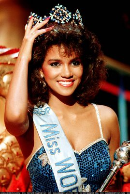 Miss World USA 1986 Halle Berry