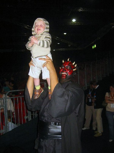 Darth Maul and Baby | by The Official Star Wars