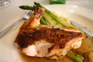 chicken and asparagus | by GregPC