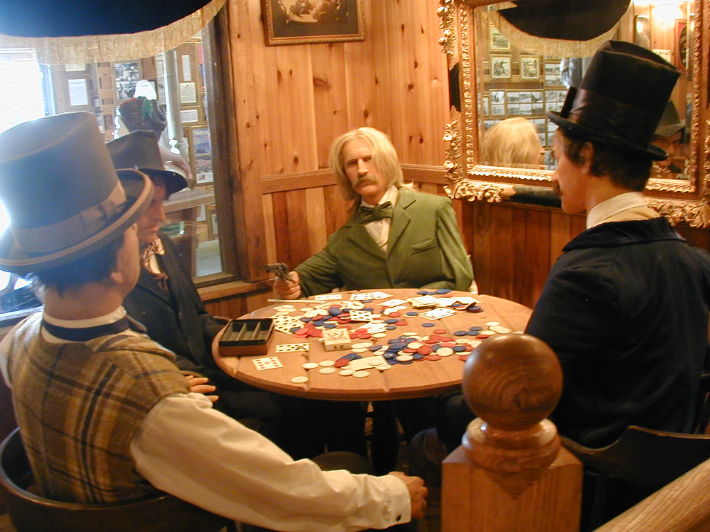 Old west poker games casino roche posay restaurant