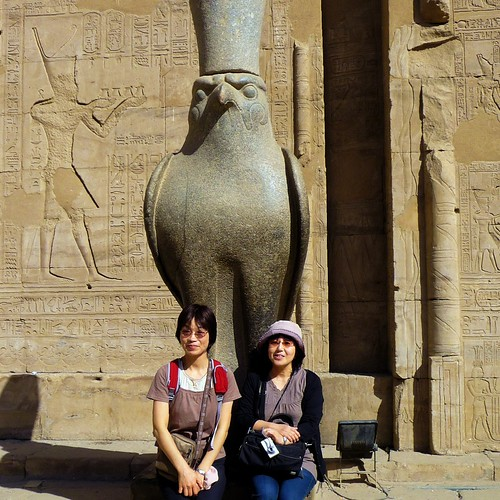 Nipponbeauty in Horus Tempel إدفو‎, | by Ginas Pics