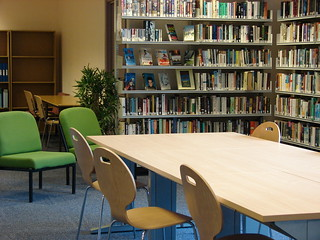 LRC Furniture and Books, South Devon College | by jisc_infonet