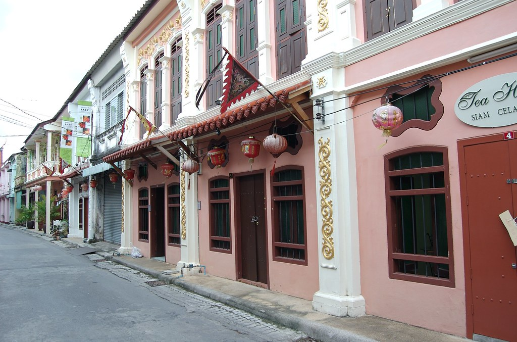 Soi Rommani, Old Phuket Town - former red light district