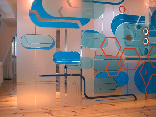 Captivating Sliding Wall Mural At KK Office Multilayered Sliding Mur Flickr