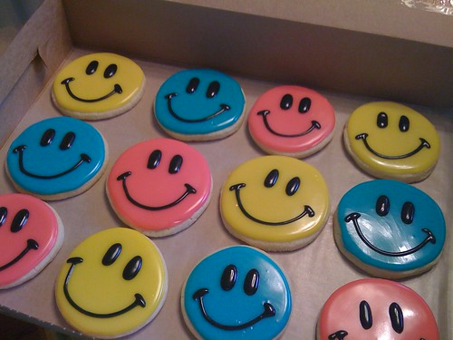 Smiley Face Cookies Sugarush Desserts Smiley Face
