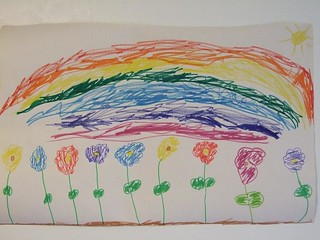 Rainbow and Flower | by Childrens Book Review