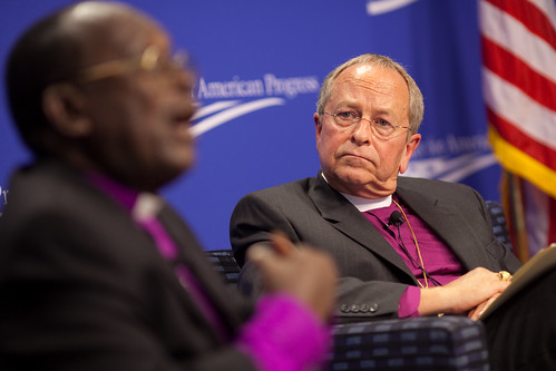 Bishop Christopher Senyonjo and Bishop Gene Robinson | by Center for American Progress