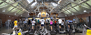 Working out in the Zimmerman Fitness Center in Alumni Gym | by Dartmouth Flickr