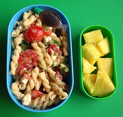 Pasta salad & pineapple lunch | by Biggie*