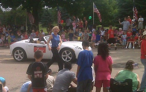 Tammy Baldwin at Monona Memorial Day Parade 2010 | by TheFrontPorchTimes