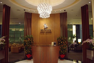 KrisFlyer Gold Lounge at Terminal 3, SIN Changi Airport - Singapore Airlines | by Matt@TWN