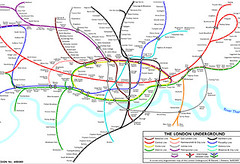 Curvy Tube Map by Maxwell Roberts | by Annie Mole