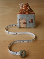 House Tape Measure | by PatchworkPottery