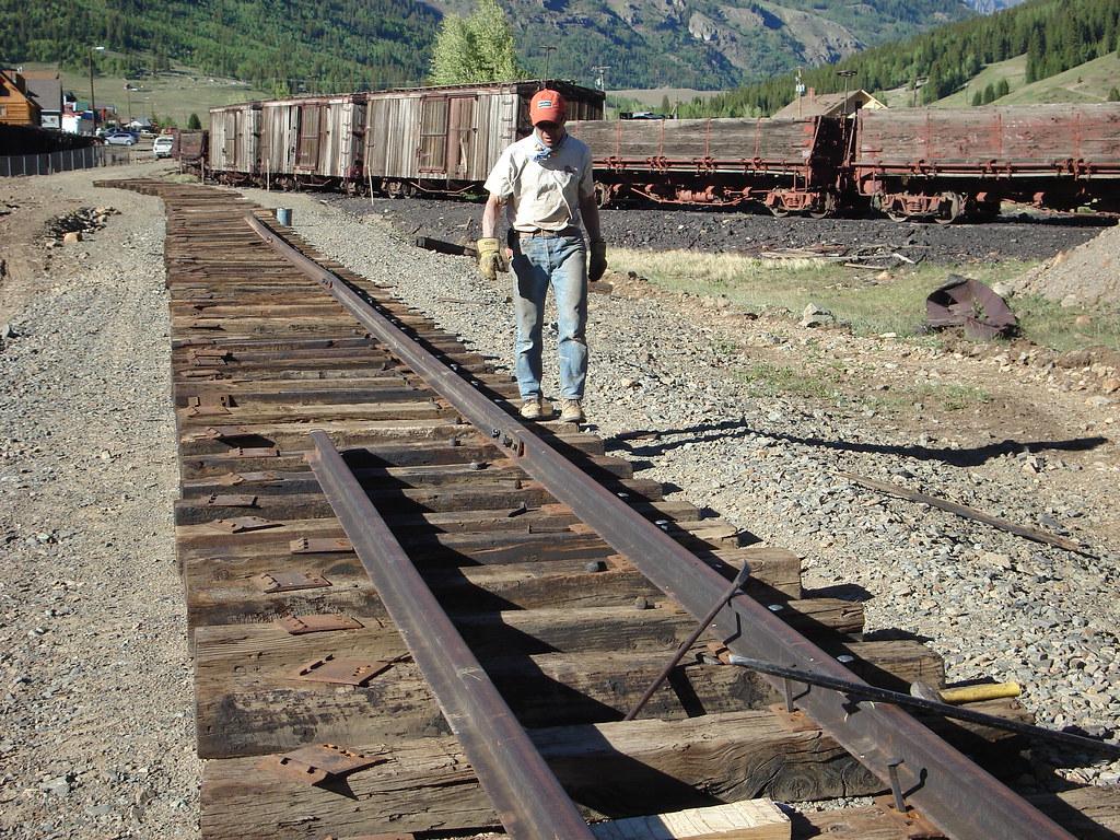 sn track work resumes flickr