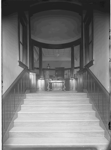 Putnam Hall, Staircase to Library, North Dakota Agricultural College | by NDSU University Archives