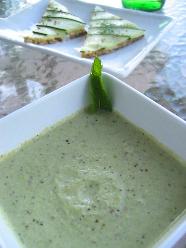 english_pea and mint soup | by tofu666
