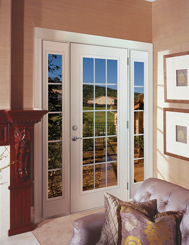 Feather River Door Fiberglass Patio Doors Smooth White D