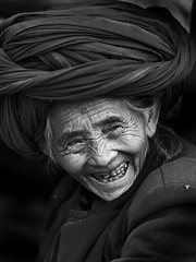 Old woman from Lugu lake area, Yunnan, China | by Eric Lafforgue