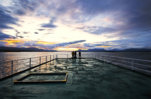 Beagle Channel Sunset | by An Oxymoron