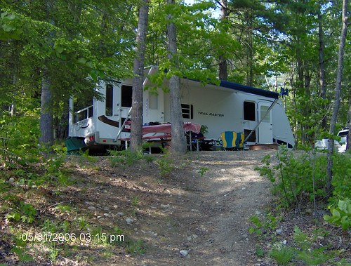 Danforth Bay Campground Nh Our Site Mocote23 Flickr