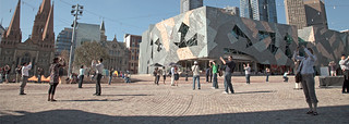 cameras in Fed Square | by brendan.oshea