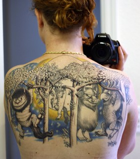 Where the Wild Things Are Tattoo | by Miss Grace