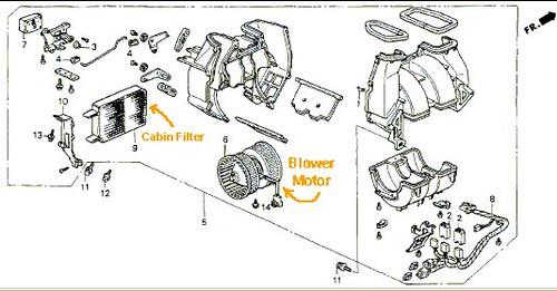 Acura Legend Heater Blower Motor Installing New Brushes By Flickr - Acura legend blower motor
