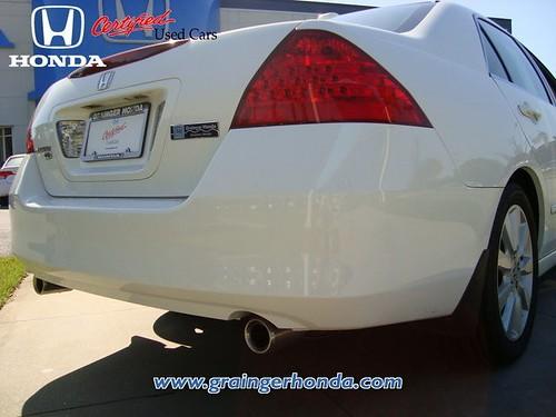 2007 Honda Accord Sdn EXL in Savannah GA at Grainger Honda ...