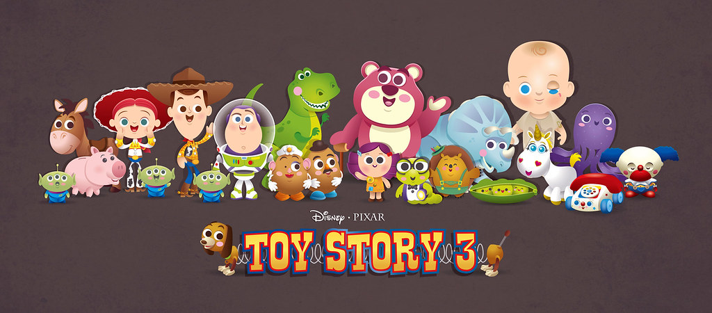 Toy Story 3 My Tribute To Toy Story 3 Might Update This O Flickr
