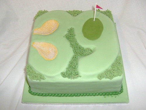 39th Birthday Golf hole cake | by Sweet Sensations Cakes