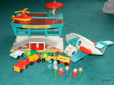 Vintage Fisher Price Airport | by twitchery