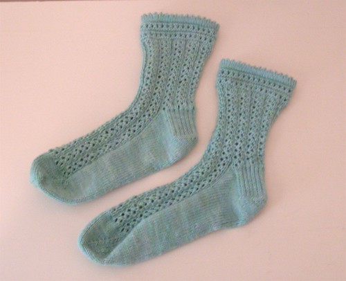 Giotto-With-The-Flow socks, finished. | by zigeunerweisen