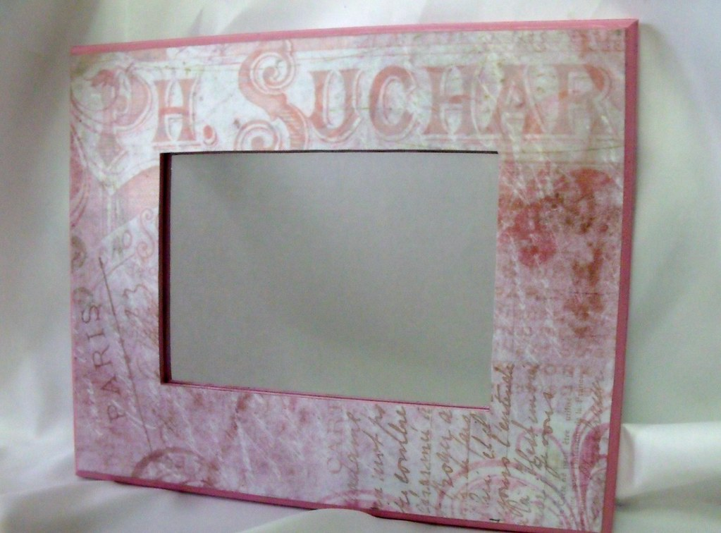 Vintage Paris Style, Hand Painted, Decoupage, Wooden Frame…   Flickr