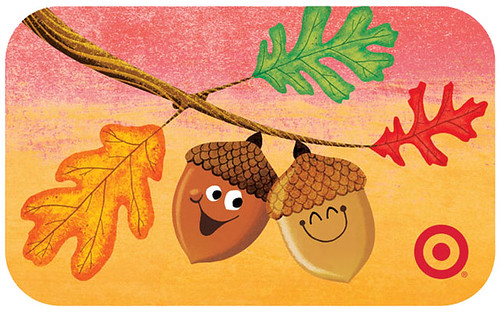 Target Happy Acorns Giftcard | by S.britt