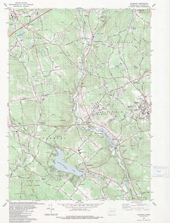 Coventry Quadrangle 1983 - USGS Topographic 1:24,000 | by uconnlibrariesmagic