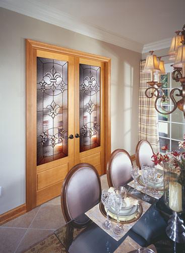 River Doors Feather River Door Bellante Wrought Iron: Feather River Door Wood Interior Doors