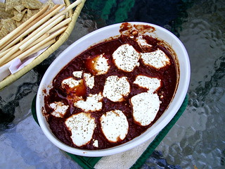 Baked goat cheese | by Blue Lotus