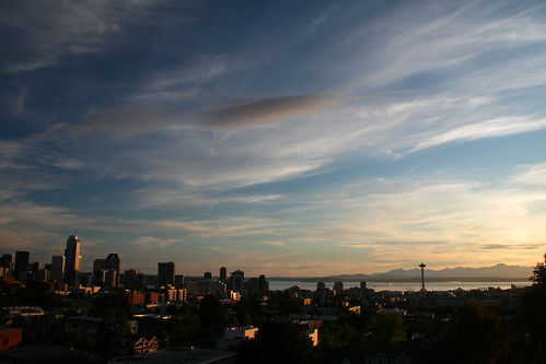 Seattle Summer Sunset | by lopolis