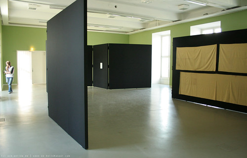 documenta 12 | Florian Pumhösl / Modernologie | 2007 | (on the right: Tanaka Atsuko / Work (Baumwolle | cotton) | 1955) | Fridericianum | by A-C-K