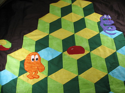 Q*bert close-up | by 1lenore