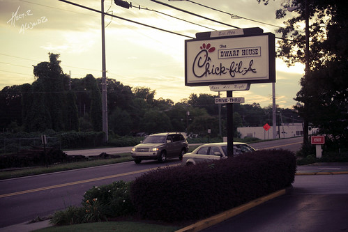 Chick-fil-a Sign | by hectorir