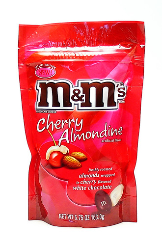 Cherry Almondine M&Ms | by cybele-