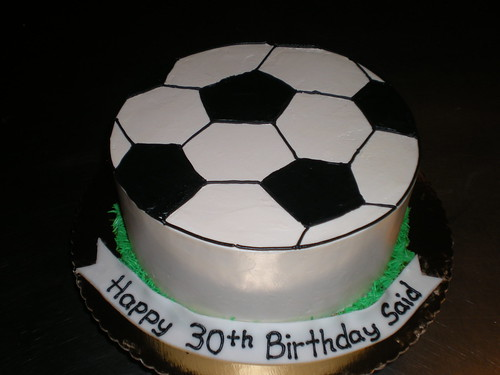 Soccer Birthday Cake Toppers