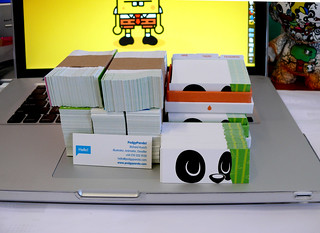 This is what 800 mini moo cards looks like | by PodgyPanda