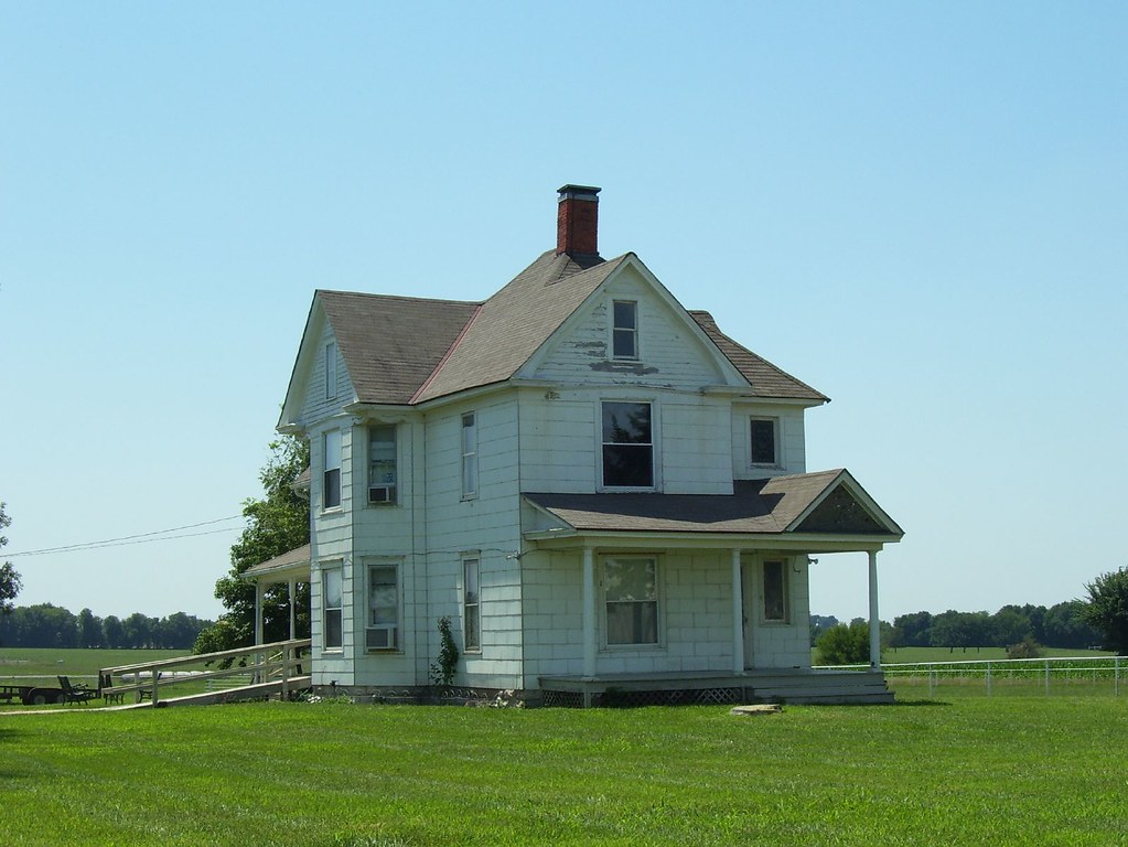 Kansas Farm House