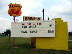 Clark 54 Drive-In Movie Theater | by Neato Coolville