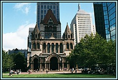 Trinity Church and John Hancock | by Mrs. Terry
