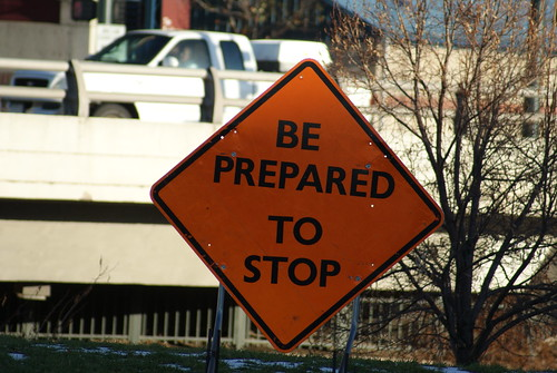 be prepared to stop | by bradleygee