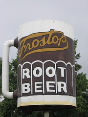 Frostop Root Beer sign, Chrisman, Illinois | by HystericalMark