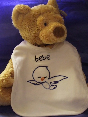 Bebe' Bird Bib | by sewitsforyou